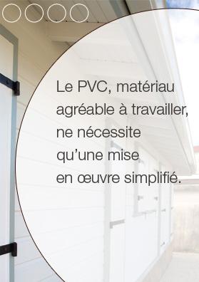 Lambris PVC pour plafond, matériau agréable à travailler, ne nécessite qu'une mise en oeuvre simplifié - Cabex, Martinique, Guadeloupe, Guyane