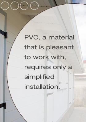 PVC paneling for ceilings, a material pleasant to work with, requires only a simplified implementation - Cabex, Martinique, Guadeloupe, Guyane